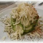 Σαλάτα κολοκύθι με αβοκάντο και γραβιέρα νάξου!!!