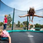 le trampoline pour les enfants