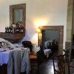 Restaurante dentro de uma antiga capela