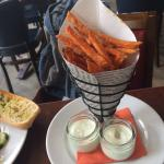 french fries mad from sweet potatoes