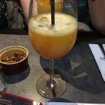 """Cocktail Sex and the beach. Magret de canard de """"300""""g. Et mousse aux chocolat."""