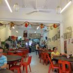 Interior of Ming Chung