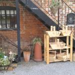 Trugs for sale outside mill