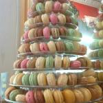 Mountain of macaroons!