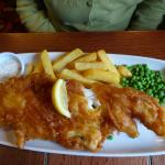 Hand-Battered Haddock and Chips