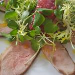 Yorkshire Tea Smoked Duck Salad