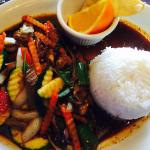 Thai Basil with Duck - Lunch Service - Yummy!