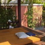 Det fanns möjlighet till massage vid hotellet.