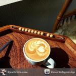 Un cappuccino sur le billard nicolas