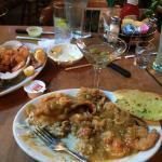 Sauteed Shrimp and Catfish Acadian