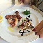 Restaurant Cap-Sounio Foto