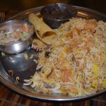 Katchi Biriyani Thali