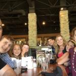 My family of 8 at the Sunday brunch.