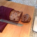 homemade cranberry nut bread