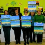 We had a fun time painting at artfully yours