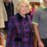 Duchess of Cornwall, visited Emmaus Village Carlton on 10 Dec 2015