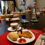 commune table for breakfast