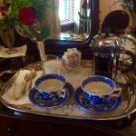 coffee service in your room before breakfast