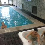 Excelente piscina climatizada.