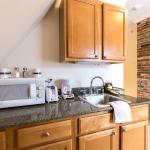 Kitchenettes available in Peabody House suites