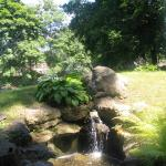 A water feature near the Rock Gardens