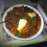 jambalaya and blackened chicken (better than so good)