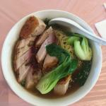 Roast Pork Noodle Soup