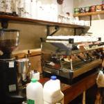 Espresso machine.