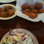 Hush puppies n  coleslaw