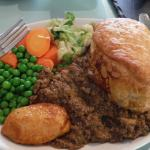 Mince and mealy pie....cant get any more scottish than this.