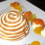 Baked Alaska, Citrus Restaurant, Santana Row, San Jose, CA