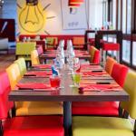 Salle restaurant/petit déjeuner