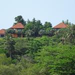 Das Taidaho von der Bucht aus gesehen