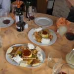 postres variaados del menu degustacion