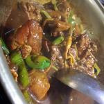 好吃的花雕雞 香噴噴的超級下飯的 搭配蛤蜊湯 真的絕配 我喜歡哈哈