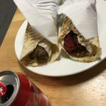 Sujuk and kafta shawarma