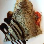 Fresh and delicious crepes