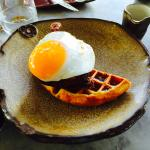 Duck and Waffle signature dish