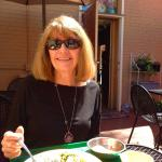 Lunch on the patio