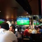 Grandes pantallas para disfrutar de buenos partidos y videos