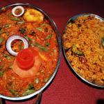 Handi Bhuzon & Mushroom Rice
