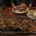 Nachos and Burger