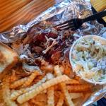 Pork Plate w/ Cole Slaw and Fries