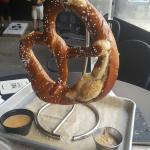 One huge pretzel!