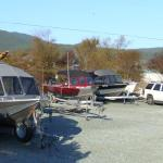Boat & trailer parking JUST for our guests