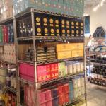 well stocked shelves