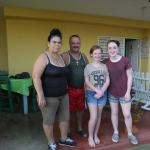 Orlando y Juana with our kids
