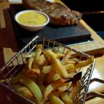 More Steak and oven baked fries