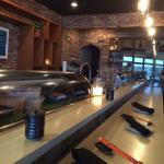 Sushi bar and live music