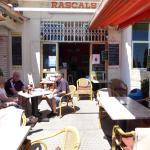 The outside of Rascals Bar.